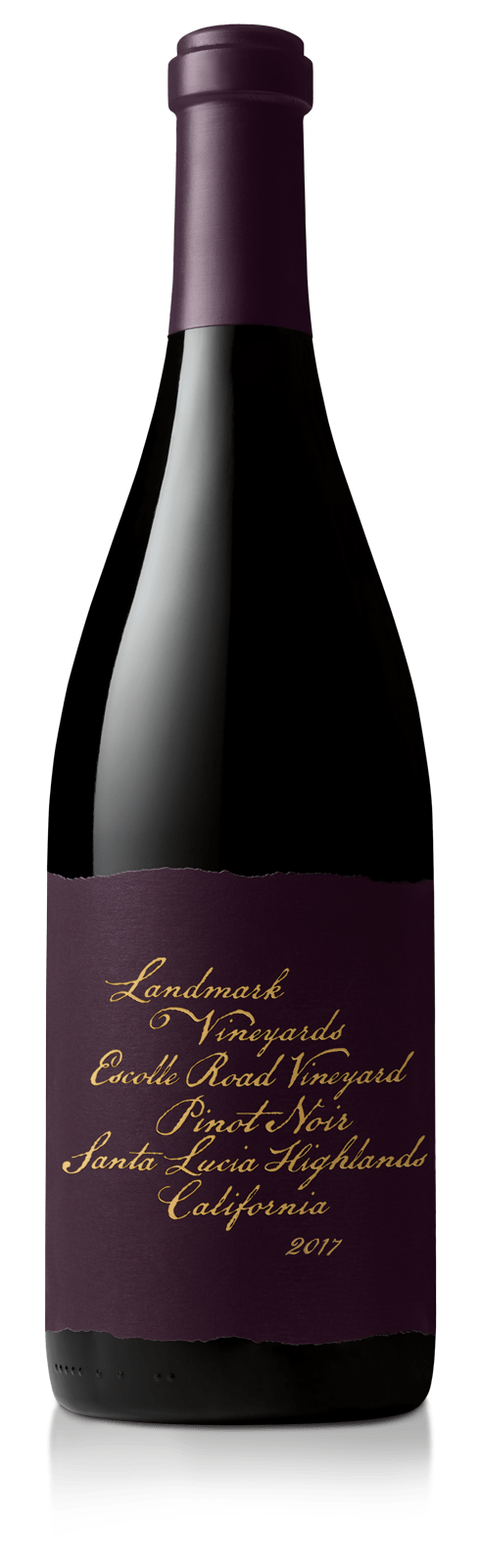 Distinctly Dark: Escolle Rd Pinot Noir.